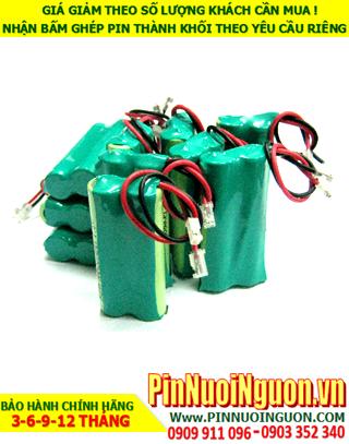 Pin sạc 2.4v AAA800mAh; Pin sạc NiMh NiCd 2.4v AAA800mAh; Pin sạc khối 2.4v AAA800mAh; Pin sạc công nghiệp 2.4v AAA800mAh