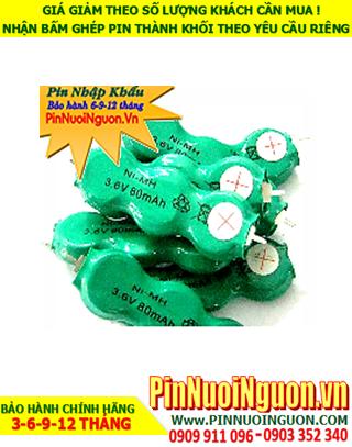 Pin sạc 3.6v 40mAh (3/V40H); Pin sạc NiMh NiCd 3.6v 40mAh (3/V40H); Pin sạc công nghiệp 3.6v 40mAh (3/V40H)