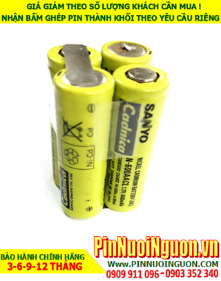 Pin sạc 4.8v-N600AACL; Pin sạc NiMh 4.8v-N600AACL; Pin sạc NiCd 4.8v-N600AACL; Pin sạc khối 4.8v-N600AACL