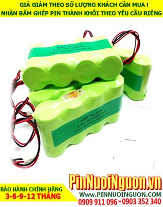 Pin sạc 4.8v C3000mAh; Pin sạc NiMh Nicd 4.8v C3000mAh; Pin sạc khối 4.8v C3000mAh; Pin sạc công nghiệp 4.8v C3000mAh