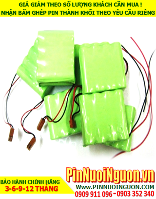 Pin sạc 4.8v AA700mAh; Pin sạc NiMh Nicd 4.8v AA700mAh; Pin sạc khối 4.8v AA700mAh; Pin sạc công nghiệp 4.8v AA700mAh