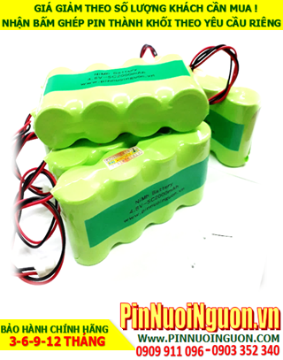 Pin sạc 4.8v SC3400mAh; Pin sạc NiMh NiCd 4.8v SC3400mAh; Pin sạc khối 4.8v SC3400mAh; Pin sạc công nghiệp 4.8v SC3400mAh
