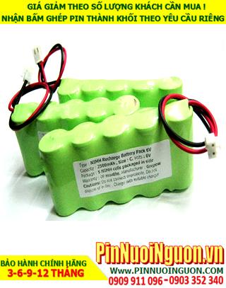 Pin sạc 6v C2500mAh; Pin sạc NiMh NiCd 6v C2500mAh; Pin sạc khối 6v C2500mAh; Pin sạc công nghiệp 6v C2500mAh