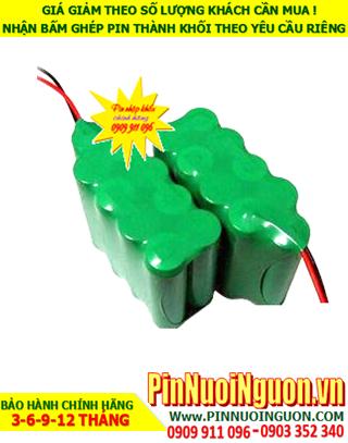 Pin sạc 10.8v AA1200mAh; Pin sạc NiMh NiCd 10.8v AA1200mAh; Pin sạc khối 10.8v AA1200mAh; Pin sạc công nghiệp 10.8v AA1200mAh