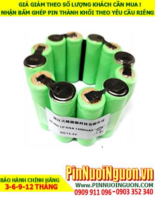 Pin sạc 14.4v-4/5A2000mAh, Pin sạc NiMh-NiCd 14.4v-4/5A2000mAh, Pin sạc công nghiệp 14.4v-4/5A2000mAh| Hàng có sẳn