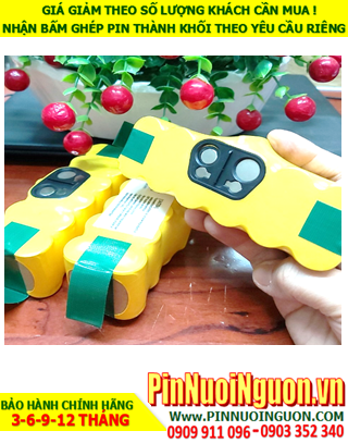 Pin sạc 14.4v SC3000mAh; Pin sạc NiMh NiCd 14.4v SC3000mAh; PIn sạc khối 14.4v SC3000mAh; Pin sạc công nghiệp 14.4v SC3000mAh