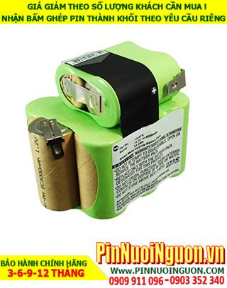 Pin sạc 14.4v-3000mAh; Pin sạc NiMh 14.4v-3000mAh; Pin sạc khối 14.4v-3000mAh; Pin sạc iRobot 14.4v-3000mAh