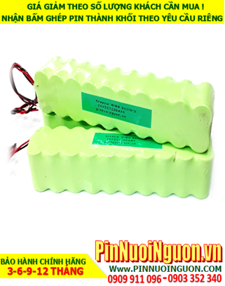 Pin sạc 24v SC1300mAh; Pin sạc NiMh NiCd 24v SC1300mAh; Pin sạc khối 24v SC1300mAh; Pin sạc công nghiệp 24v SC1300mAh