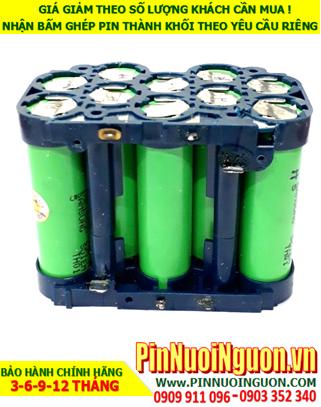 Pin máy khoan 18v-2600mAh; Pin sạc Lithium li-ion Máy khoan 18v-2600mAh _Thay pin máy khoan 18v-2600mAh