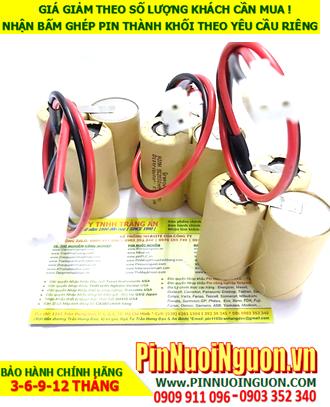 Pin sạc 3.6v-SC2000mAh; Pin đèn exit thoát hiểm 3.6v-SC2000mAh; Pin đèn sự cố khẩn cấp 3.6v-SC2000mAh; Pin sạc NiMh NiCd 3.6v-SC2000mAh