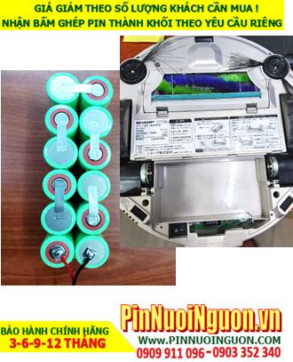Pin sạc 14.4v SC2000mAh; Pin máy hút bụi lau nhà iRobot Sharp 14.4v SC2000mAh; Pin iRobot Sharp 14.4v SC2000mAh
