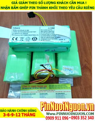Pin sạc iRobot 14.4v-AA1500mAh; Pin Máy hút bụi lau nhà iRobot 14.4v-AA1500mAh; Pin sạc NiMh iRobot 14.4v-AA1500mAh