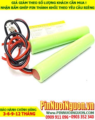 Pin sạc 3.6v-SC2000mAh; Pin đèn exit thoát hiểm 3.6v-SC2000mAh; Pin đèn sự cố khẩn cấp 3.6v-SC2000mAh; Pin sạc NiMh NiCd 3.6v-SC2000mAh 3.6V-SC2000MAH