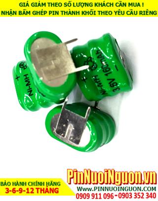 Pin sạc 3.6v-160mAh(3/V160H); Pin sạc NiMh NiCd 3.6v-160mAh(3/V160H); Pin nuôi nguồn PLC 3.6v-160mAh(3/V160H)