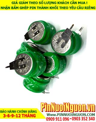 Pin sạc 2/V80, 80H2A; Pin sạc NiMh 2/V80, 80H2A; Pin nuôi nguồn PLC 2/V80, 80H2A (2.4v-80mAh) chính hãng