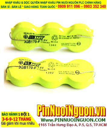 Pin Mitsubishi 3GB170-F; Pin nuôi nguồn Mitsubishi 3GB170-F (Pin sạc 3.6v 170mAh)