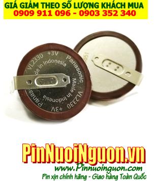Pin VL2330; Pin sạc VL2330; Pin sạc 3v lithium Panasonic VL2330 _Made in Japan