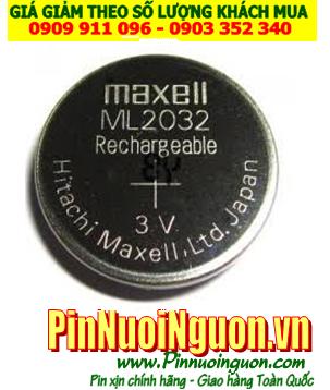 Pin ML2032; Pin Maxell ML2032; Pin sạc 3v lithium Maxell ML2032; Pin nuôi nguồn Maxell ML2032
