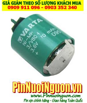 Pin sạc 3.6v-80mAh(3V/80H); Pin sạc NiMh NiCd 3.6v-80mAh(3V/80H); Pin nuôi nguồn 3.6v-80mAh(3V/80H)
