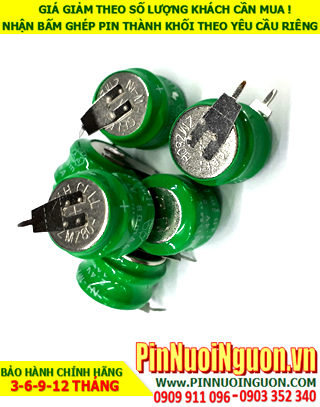 Pin sạc 2.4v-20mAh(2/V20H, 20H2A); Pin sạc NiMh 2.4v-20mAh(2/V20H, 20H2A); Pin nuôi nguồn 2.4v-20mAh(2/V20H, 20H2A)