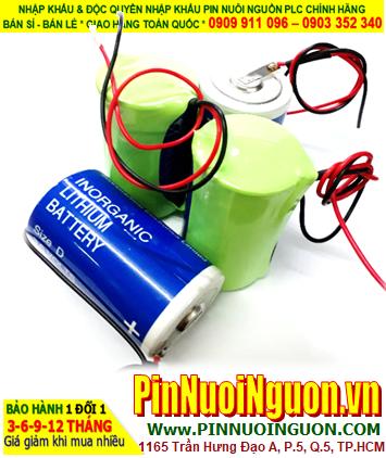 Pin SL-780; Pin Sonnecell SL-780; Pin nuôi nguồn PLC Sonnecell SL-780 lithium 3.6v D 16500mAh _Xuất xứ Đức