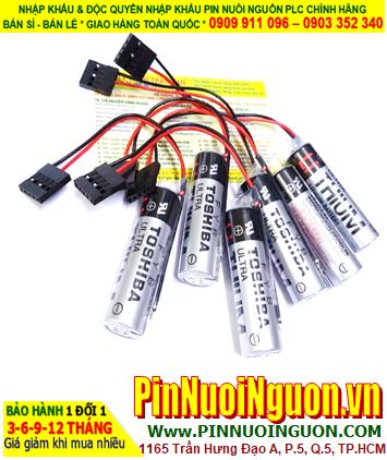 Pin ER6V _Pin Toshiba ER6V; Pin nuôi nguồn PLC Toshiba ER6V lithium 3.6v AA 2000mAh _Xuất xứ Nhật