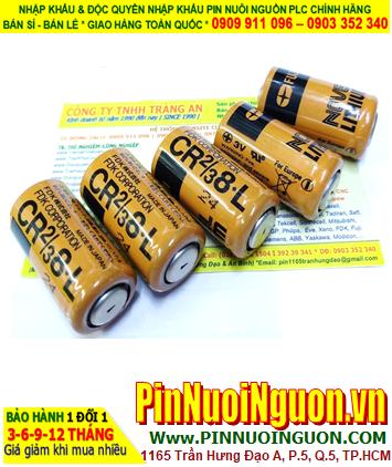 FUJI CR 2/3 8.L; Pin nuôi nguồn FUJI CR 2/3 8.L lithium 3.0v 2/3A 1800mAh _Xuất xứ Nhật