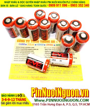 Pin CR2; Pin EVE CR2; Pin nuôi nguồn EVE CR2 lithium 3.0v 1/2AA 1000mAh chính hãng| CÒN HÀNG