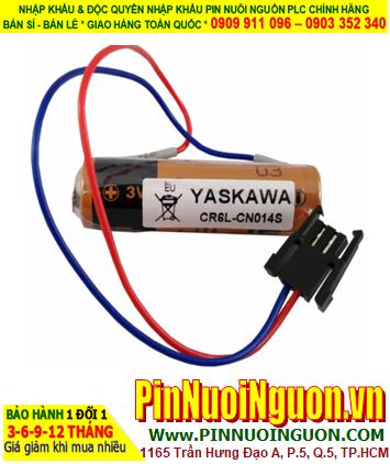 Pin YASKAWA CR6L-CN14S; Pin nuôi nguồn YASKAWA CR6L-CN14S lithium 3v AA 2300mAh _Xuất xứ Nhật