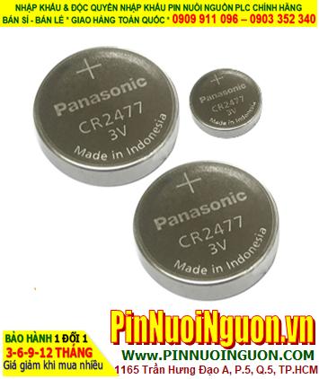 Pin PLC Sharp Lithium 3V CR2477 Panasonic chính hãng thay pin nuôi nguồn Sharp PLC   hàng cóa sẳn