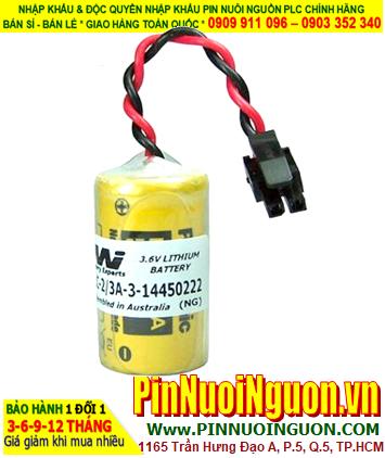 Pin 3V Lithium size 2/3A chính hãng nuôi nguồn  Schneider WILPA 1949C  PLC battery