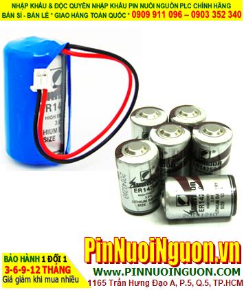 Pin Sunmoon ER14250; Pin nuôi nguồn PLC Sunmoon ER14250 lithium 3.6v 1/2AA 1200mAh
