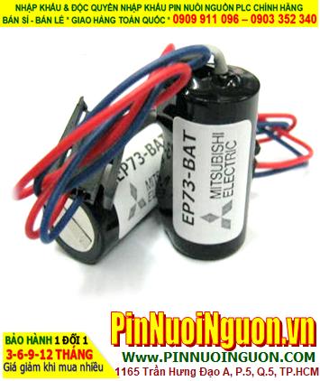 Pin Mitsubishi EP73-BAT; Pin nuôi nguồn Mitsubishi EP73-BAT lithium 3.6v 2/3A 1800mAh _Xuất xứ Nhật