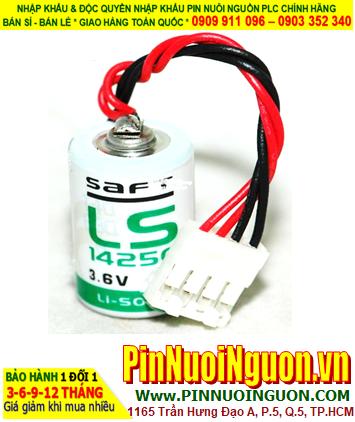 Pin LS14250 _Pin Saft LS14250; Pin nuôi nguồn Saft LS14250 lithium 3.6v 1/2AA 1200mAh _Xuất xứ Pháp