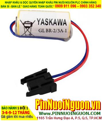 Pin YASKAWA GL BR-2/3A-1; Pin nuôi nguồn YASKAWA GL BR-2/3A-1 lithium 3v 1200mAh _Xuất xứ Nhật