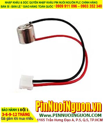 SANYO CR1/3N _ Pin nuôi nguồn PLC  SANYO CR1/3N 170mAh lithium 3.0v _Xuất xứ Nhật
