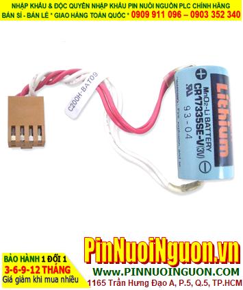 Omron C200H-BAT09; Pin nuôi nguồn PLC Omron C200H-BAT09 lithium 3v _Made in Japan