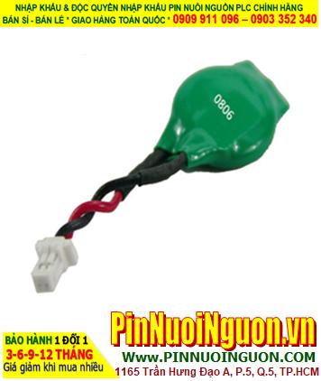 Pin Varta ML1220; Pin nuôi nguồn Varta ML1220 lithium sạc 3v (có zắc cắm) _Xuất xứ Đức