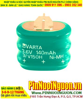 Pin sạc 3/V150H (3.6v-150mAh); Pin nuôi nguồn PLC Varta 3/V150H (3.6v-150mAh) _Made in Germany