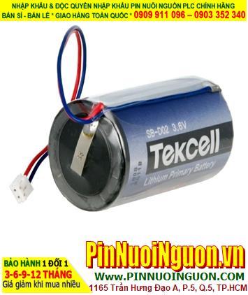Pin SB-D02; Pin Tekcell SB-D02; Pin nuôi nguồn PLC Tekcell SB-D02 lithium 3.6v 19000mAh chính hãng