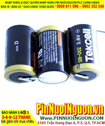 Pin SB-D02; Pin Tekcell SB-D02; Pin nuôi nguồn PLC Tekcell SB-D02 (3 viên ghép lại) lithium 10.8v 19000mAh chính hãng