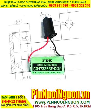 FDK CR17335SE-R; Pin nuôi nguồn FDK CR17335SE-R lithium 3v 1800mAh _Japan