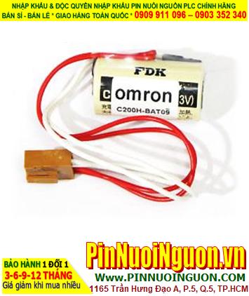 FDK CR17335SE; Pin nuôi nguồn PLC FDK CR17335SE lithium 3v 2/3A 1800mAh