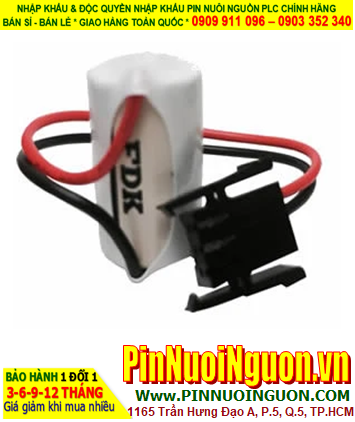 FDK CR14250SE; Pin nuôi nguồn PLC FDK CR14250SE 1/2AA 900mAh _Made in Japan