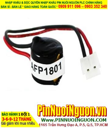 Pin Panasonic AFP1801; Pin AFP1801; Pin nuôi nguồn PLC Panasonic AFP1801 lithium 3v _Made in Japan