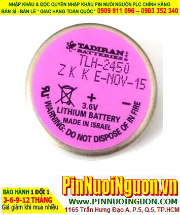 Pin TLH-2450; Pin Tadiran TLH-2450; Pin nuôi nguồn Tadiran TLH-2450 lithium 3.6v 1/10D 550mAh _Xuất xứ Israel