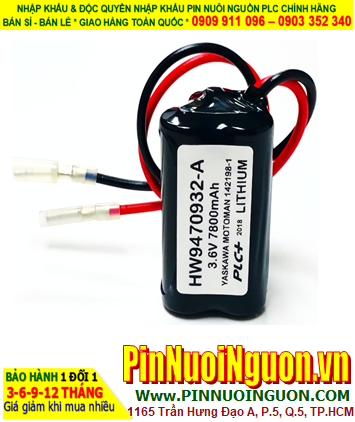 Pin HW9470932; Pin nuôi nguồn Yaskawa HW9470932 chính hãng _Xuất xứ Nhật