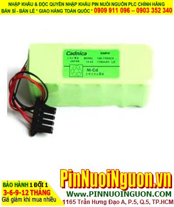 Pin sạc khối 12N-1600SCB (14.4v 1600mAh) chính hãng | HÀNG CÓ SẲN -Bảo hành sử dụng 1 năm