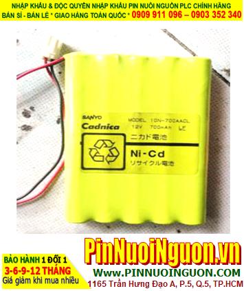 Pin nuôi nguồn SANYO 10N-700ACCL 12V 700mAh (12vAA700mAh|| ĐANG CÒN HÀNG