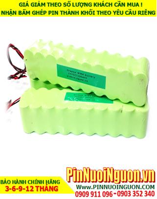 Pin nuôi nguồn 24v SC1300mAh NiMh; Pin sạc 24v SC1300mAh nuôi nguồn PLC| ĐANG CÒN HÀNG